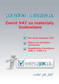 Adam Kret - Zwrot VAT za materiały budowlane