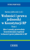 dr Mariusz Jabłoński - Wolności i prawa jednostki w Konstytucji RP. Tom I Idee i zasady przewodnie konstytucyjnej regulacji wolności i praw jednostki w RP