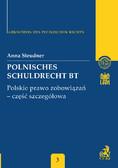Anna Steudner - Polnisches Schuldrecht BT. Polskie prawo zobowiązań - część szczegółowa