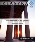 Stanisław Brzozowski - W odpowiedzi na protest