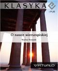Wacław Rzewuski - O nauce wierszopiskiej