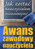 Katarzyna Gajkowska - Awans zawodowy nauczyciela