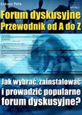 Łukasz Peta - Forum dyskusyjne - Przewodnik od A do Z