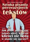 Piotr R. Michalak, Jakub Woźniak - Sztuka pisania perswazyjnych tekstów