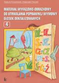 Grażyna Krzysztoszek, Małgorzata Piszczek - Materiał wyrazowo-obrazkowy do utrwalania poprawnej wymowy głosek dentalizowanych