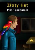 Piotr Bednarski - Złoty list