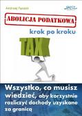 Andrzej Pęczak - Abolicja Podatkowa krok po kroku