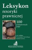 Kamil Zeidler, Przemysław Rybiński - Leksykon retoryki prawniczej