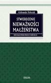 Aleksander Sobczak - Stwierdzenie nieważności małżeństwa