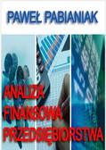 Paweł Pabianiak - Analiza Finansowa Przedsiębiorstwa