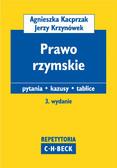 Agnieszka Kacprzak, Jerzy Krzynówek - Prawo rzymskie Pytania. Kazusy. Tablice