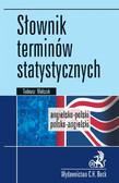 Tadeusz Walczak - Słownik terminów statystycznych angielsko-polski polsko-angielski