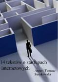 Tomasz Smykowski - 14 tekstów o internetowych startupach