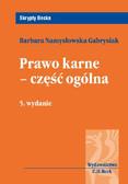 Barbara Namysłowska-Gabrysiak - Prawo karne - część ogólna