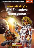 Krystian Smoszna - SiN Episodes: Emergence - poradnik do gry