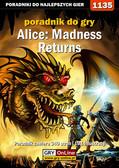 Amadeusz 'ElMundo' Cyganek - Alice: Madness Returns - Opis przejścia