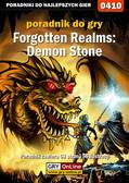 Rafał 'Yossa' Nowocień - Forgotten Realms: Demon Stone - poradnik do gry