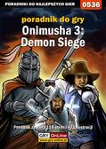 Mariusz 'PIRX' Janas - Onimusha 3: Demon Siege - poradnik do gry
