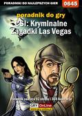 Bartosz 'bartek' Sidzina - CSI: Kryminalne Zagadki Las Vegas - poradnik do gry