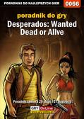 Jacek 'Stranger' Hałas - Desperados: Wanted Dead or Alive - poradnik do gry