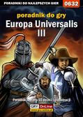 Łukasz 'Gajos' Gajewski - Europa Universalis III - poradnik do gry
