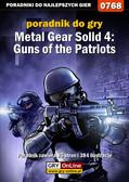 Zamęcki 'g40st' Przemysław - Metal Gear Solid 4: Guns of the Patriots - poradnik do gry