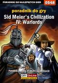 Łukasz 'Gajos' Gajewski - Sid Meier`s Civilization IV: Warlords - poradnik do gry