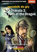 Maciej 'Shinobix' Kurowiak - Dracula 3: The Path of the Dragon - poradnik do gry