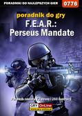 Adam 'Harpen' Woźny - F.E.A.R.: Perseus Mandate - poradnik do gry