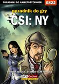 Jacek 'Stranger' Hałas - CSI: NY - poradnik do gry