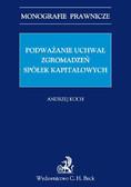 Andrzej Koch - Podważanie uchwał zgromadzeń spółek kapitałowych