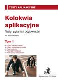 Joanna Ablewicz - Kolokwia aplikacyjne. Tom 1