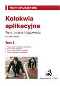 Joanna Ablewicz - Kolokwia aplikacyjne. Tom 2