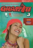 Potapowicz Anna - Graffiti 3 Język niemiecki Podręcznik z ćwiczeniami + 2 CD Kurs dla początkujących i kontynuujących naukę. Gimnazjum