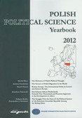 Polish Political Science Yearbook 2012