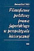Kość A. - Filozoficzne podstawy prawa japońskiego w perspektywie historycznej