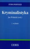 Konieczny Jerzy, Widacki Jan, Widła Tadeusz - Kryminalistyka