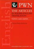 Douglas-Kozłowska Christian - The articles in polish-english translation. przedimek w języku angielskim