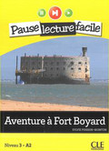 Poisson-Quinton Sylvie - Aventure à Fort Boyard + CD audio