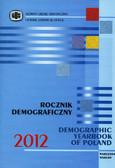 Rocznik Demograficzny 2012 (egzemplarz przeceniony)