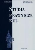 red.Dębiński Antoni - Studia prawnicze KUL, 1(49)/2012
