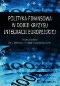 Polityka finansowa w dobie kryzysu integracji europejskiej