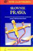 Collin P.H., Bartnicki K. - Słownik prawa angielsko-polski z indeksem polsko-angielskim