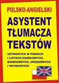 Gordon Jacek - Polsko-angielski asystent tłumacza. tekstów używanych w pismach i listach handlowych, biznesowych, urzędowych i prywatnych
