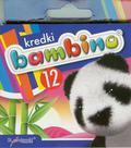 Kredki Bambino świecowe 12 kolorów