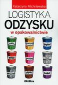 Michniewska Katarzyna - Logistyka odzysku w opakowalnictwie