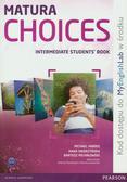 Harris Michael, Sikorzyńska Anna, Michałowski Bartosz - Matura Choices Intermadiate Student`s book + MyEnglishLab. Szkoły ponadgimnazjalne