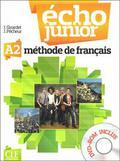 Girardet J., Pecheur J. - Echo Junior A2 Podręcznik z płytą DVD ROM