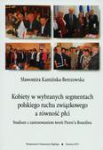 Kamińska-Berezowska Sławomira - Kobiety w wybranych segmentach polskiego ruchu związkowego a równość płci. Studium z zastosowaniem teorii Pierre'a Bourdieu