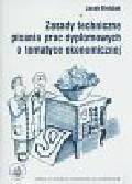Brdulak J. - Zasady techniczne pisania prac dyplomowych o tematyce ekonomicznej